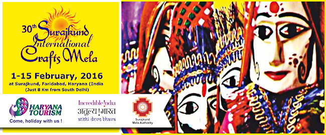 Shop for Indian handicrafts at Surajkund Mela