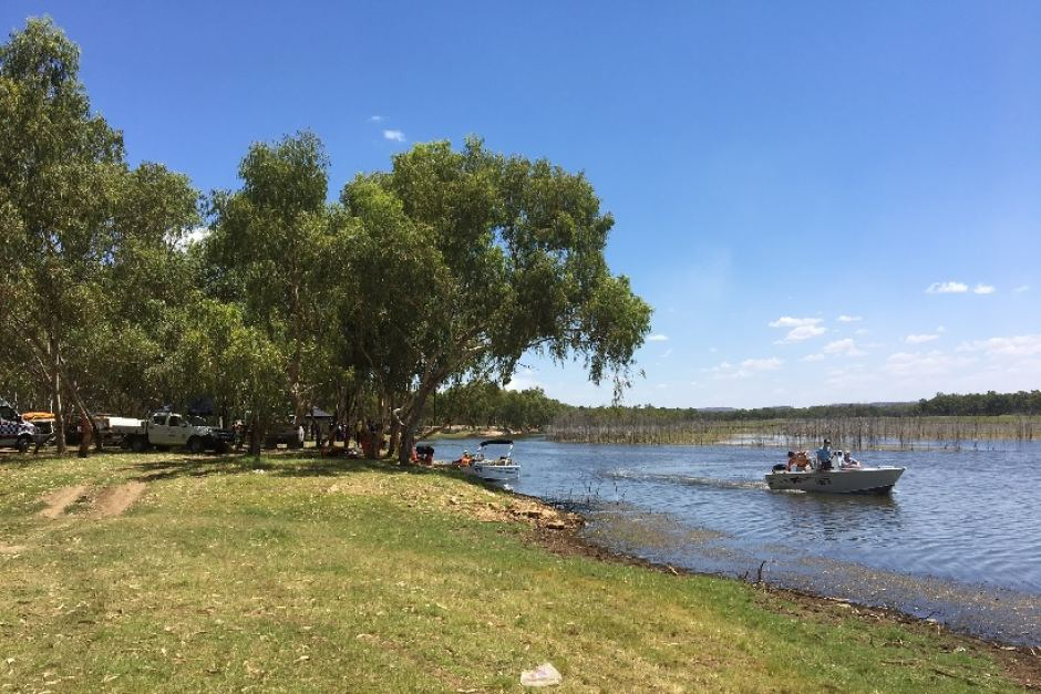 Child missing after being struck by a jet ski near Mt Isa in outback Queensland