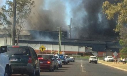 Kingaroy bacon factory fire being investigated for toxic fumes impact