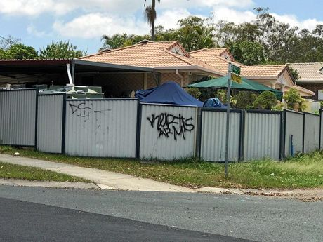 Major graffiti attack in Goodna