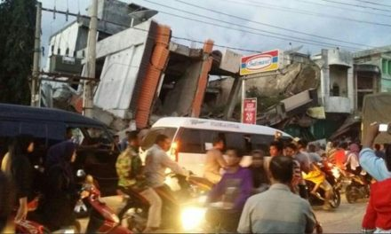 At least 25 dead as buildings collapse after earthquake hits Indonesia