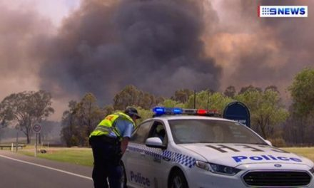 Bushfire threatens homes in NSW towns of Abermain and Neath