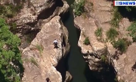 Man missing after jumping into waterhole on the Gold Coast