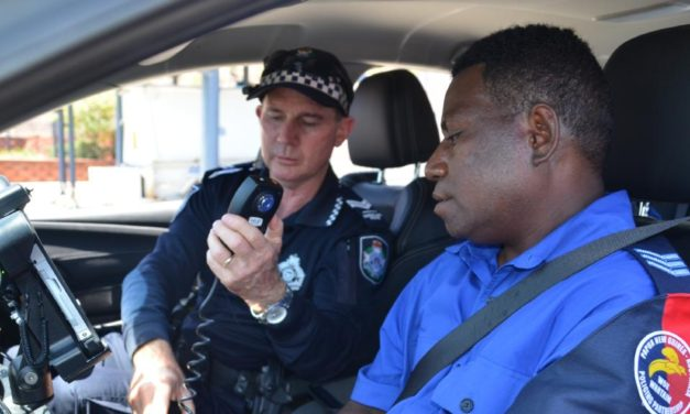 PNG police test local police technology