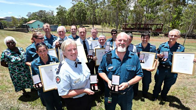 Ravenshoe cafe blast hero paramedics given Meritorious Service Awards