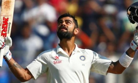 India v England: Virat Kohli makes 235 & Jayant Yadav 104 as tourists face defeat