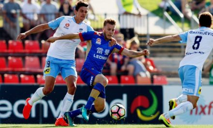 Sydney FC beat Newcastle Jets to remain undefeated to start A-League season