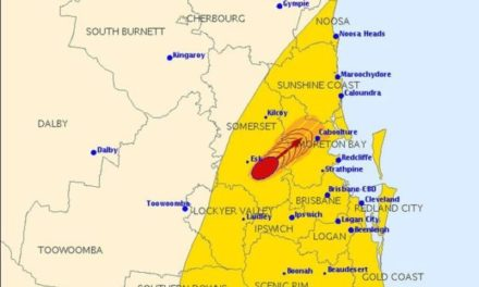 Severe thunderstorm warning issued for people in south-east Queensland