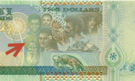 Sikh man featured on a Fijian currency note