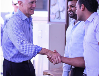 PM Turnbull visits Bangladeshi-Australian businesses in Toowoomba