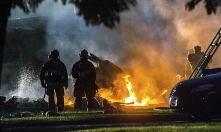 California: 4 dead, 2 injured as plane crashes into homes sparking huge fire