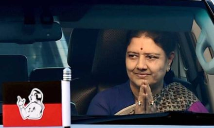 Sasikala convicted in corruption case, gets 4-year jail