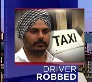 Taxi driver robbed at knifepoint in Australia
