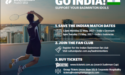 Team Indian for Sudirman Cup announced