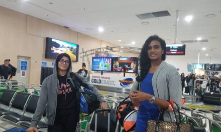 BREAKING NEWS! ​T​eam India​ has arrived in the Gold Coast for Sudirman Cup