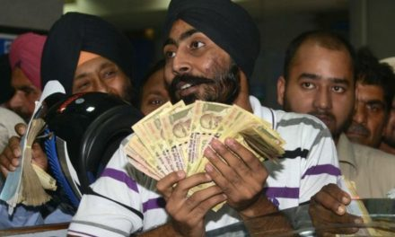 India rupee: Illegal cash crackdown failed – bank report