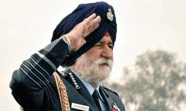 Farewell Arjan Singh: State funeral for the first and only Marshal of Indian Air Force