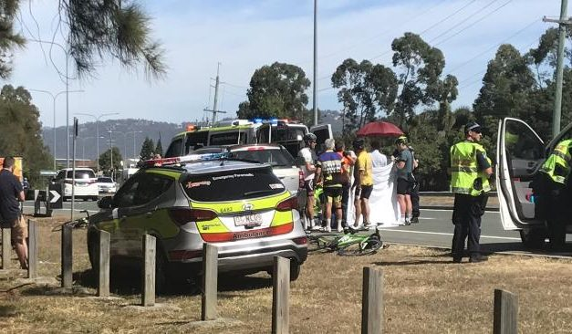 Cyclist dies in car and bicycle crash at Hope Island