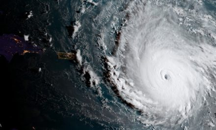 Eye of a monster: terrifying Hurricane Irma on a collision course with Florida