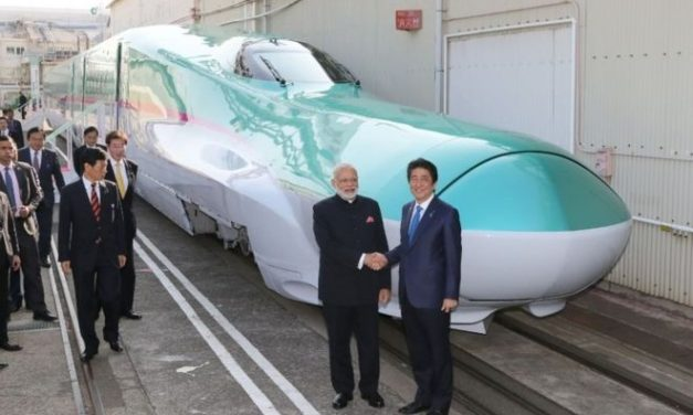 India launches first bullet train project