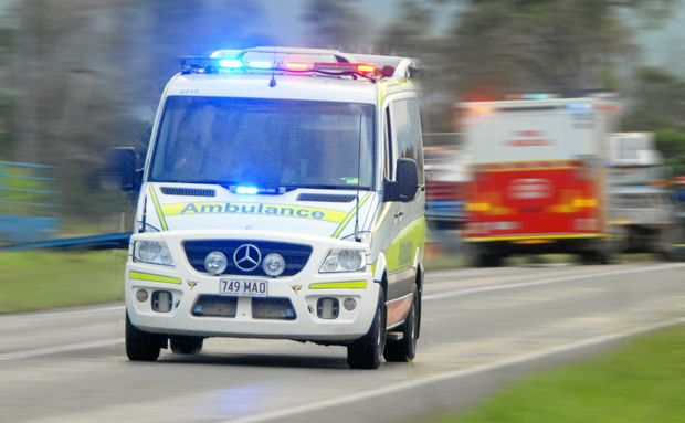 Man hit by truck on Bruce Hwy sustains serious injuries