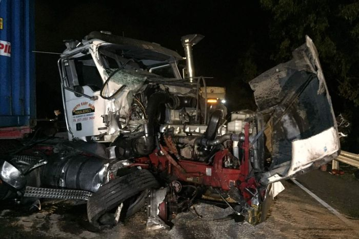 Truck crash near Port of Brisbane leaves one person in critical condition, causes delays
