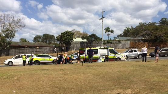 Upper Coomera man lucky to be alive after being hit by his own runaway truck