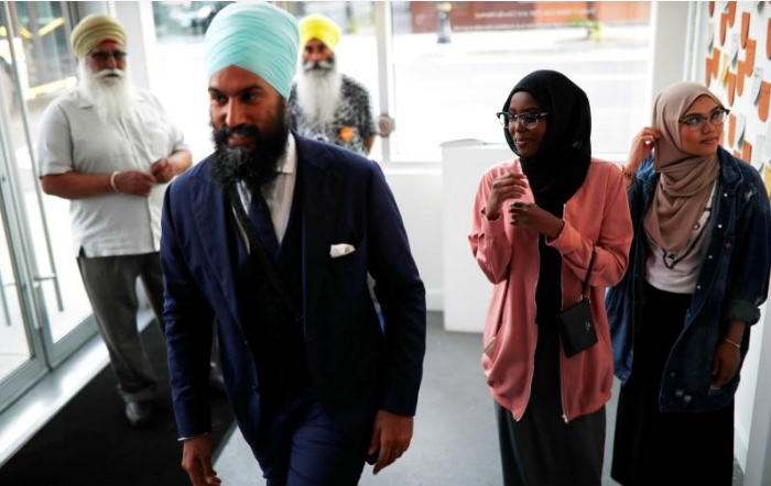 Canadian Sikh politician wins race to lead federal New Democrats