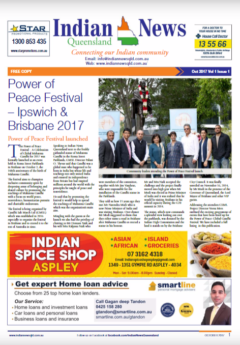 Indian News Queensland Oct Magazine