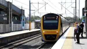 One person dead after being hit by train at Gold Coast station