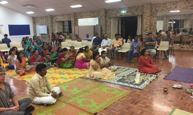Gold Coast Hindu Cultural Association Invitation For Bhajans & Yoga