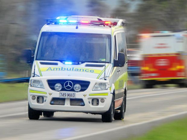 Two taken to hospital after pedestrian hit by car