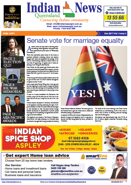 Indian News Queensland Dec Magazine