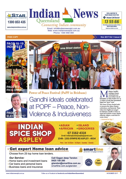 Indian News Queensland Nov Magazine
