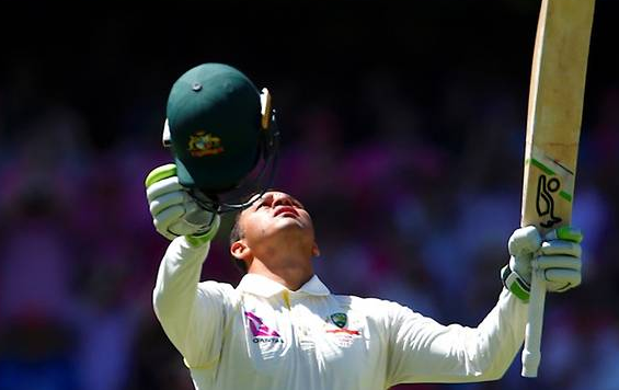 Khawaja hits ton but Smith falls before lunch in Sydney