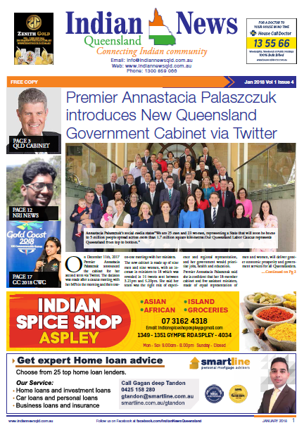 Indian News Queensland Jan 2018 Magazine
