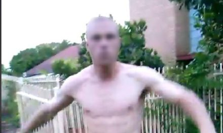 Video captures shocking abuse hurled at Brisbane man