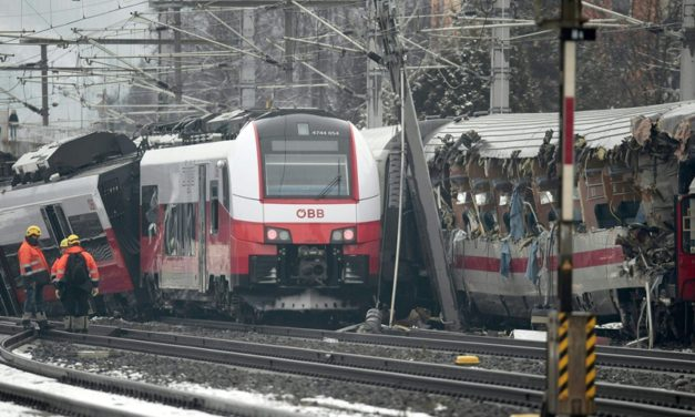 One dead, 22 injured in Austrian train collision
