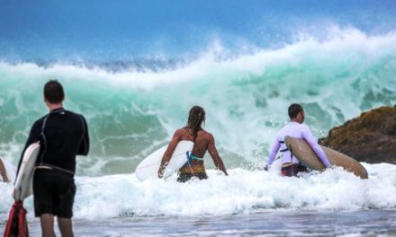 Queensland weather: Beaches closed, rain forecast for weekend