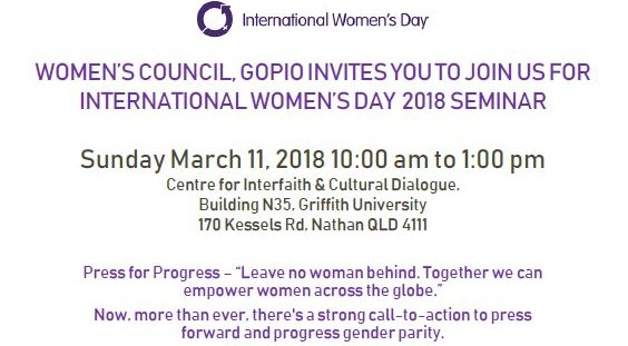 International Women's Day Seminar 2018