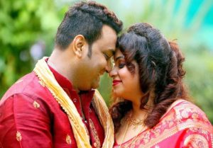 Sanjib Sarkar Ties Knot Long-Time Girl Friend Bahnisree
