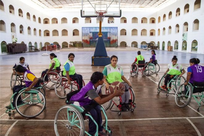 The Indian women who found a life-changing sport