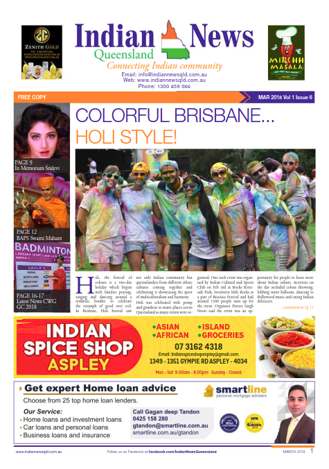 Indian News Queensland March 2018 Magazine