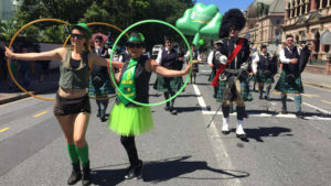 Grand parade to be sure, when St Patrick's Day falls on a Saturday