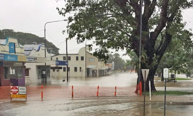 Kids trapped at school camp as floodwaters rise