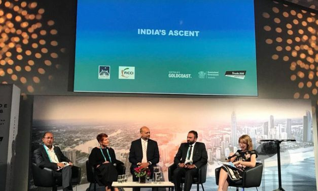 India's Ascent Trade 2018 by Federation of Indian Chambers of Commerce and Industry (FICCI)