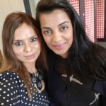 Upma Singh with Actress Model Mugdha Ghodse
