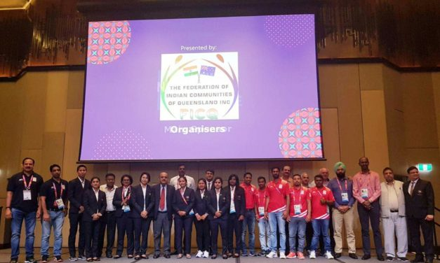Federation of Indian Communities of Queensland Host Gala Reception For Indian Athletes