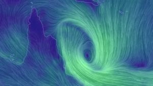 Iris has formed into a tropical cyclone again off the Queensland coast