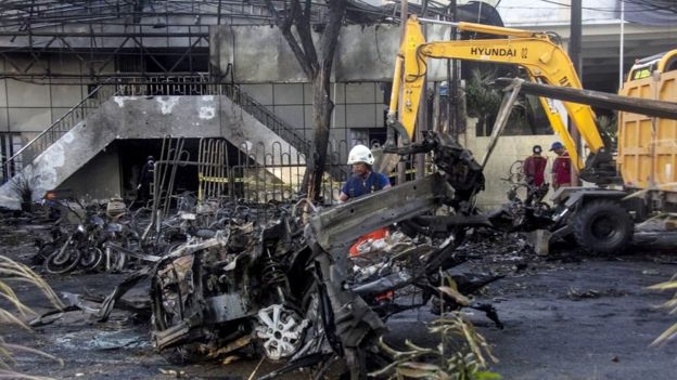 Surabaya church attacks: Indonesian family of bombers 'had been to Syria'